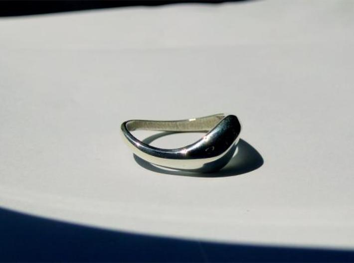 Women's Ring 3d printed Real