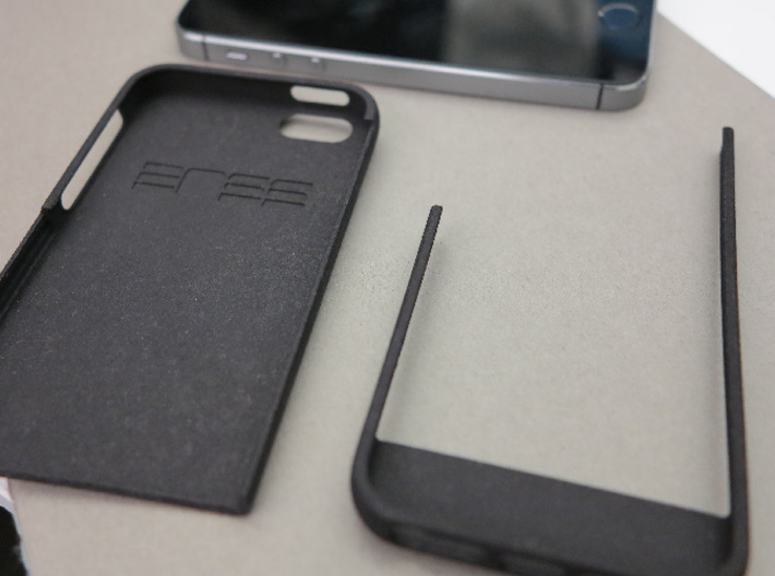 slim case for iPhone 5/5s - Bottom 3d printed Disassembled case