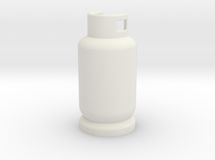 Scale 1/10 gas tank butane 3d printed