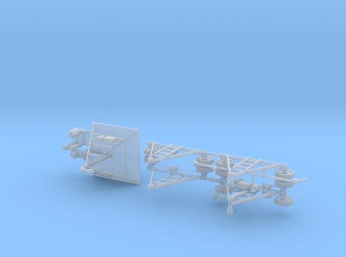 Farm Irrigation Towers 3d printed