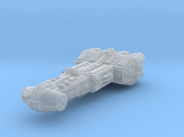 Modified Corvette v2 (guns added) 3d printed
