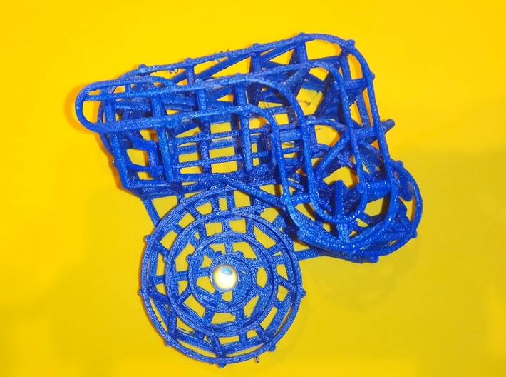 Rolling Ball Sculpture Phillipians 3:13,14 3d printed