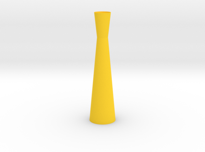 Thin Hourglass Vase 3d printed
