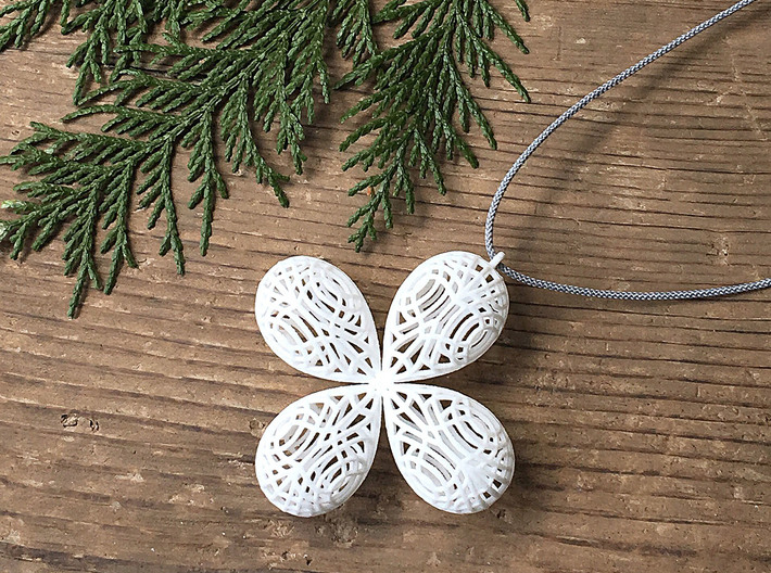 cross pendant Top L 3d printed