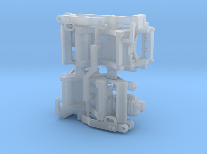 (2) GREEN 2013 & OLDER ROW-CROP TRACTOR REAR ENDS 3d printed