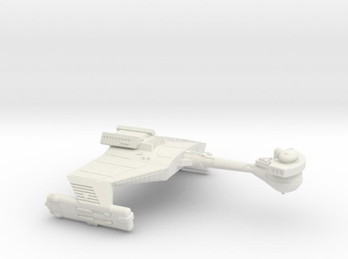 3788 Scale Klingon D5K Refitted War Cruiser WEM 3d printed