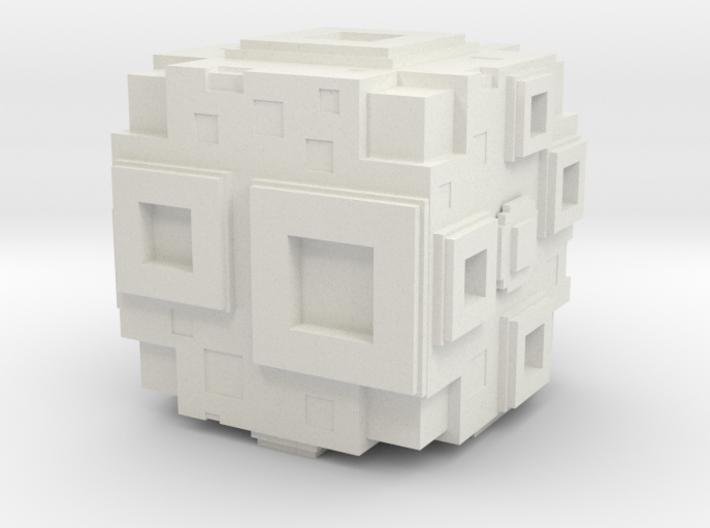 cube moon 3d printed
