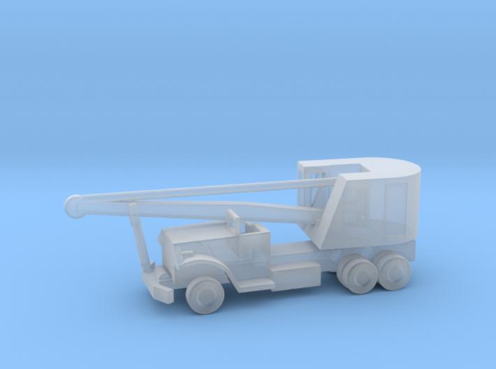 1/144 Scale Brockway C666 Pontoon Bridge Crane 3d printed