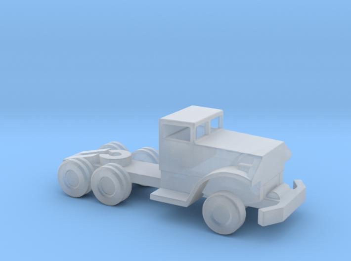 1/144 Scale Brockway Tractor Pontoon Bridge Tracto 3d printed