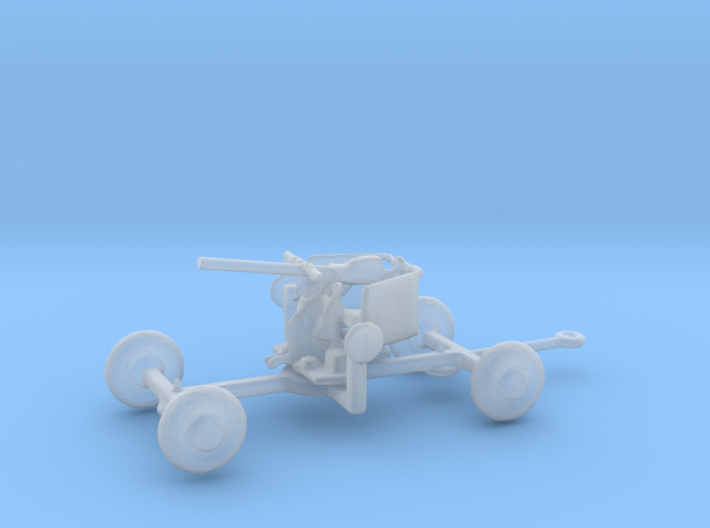 1/160 Scale 40mm Bofor Trailer 3d printed