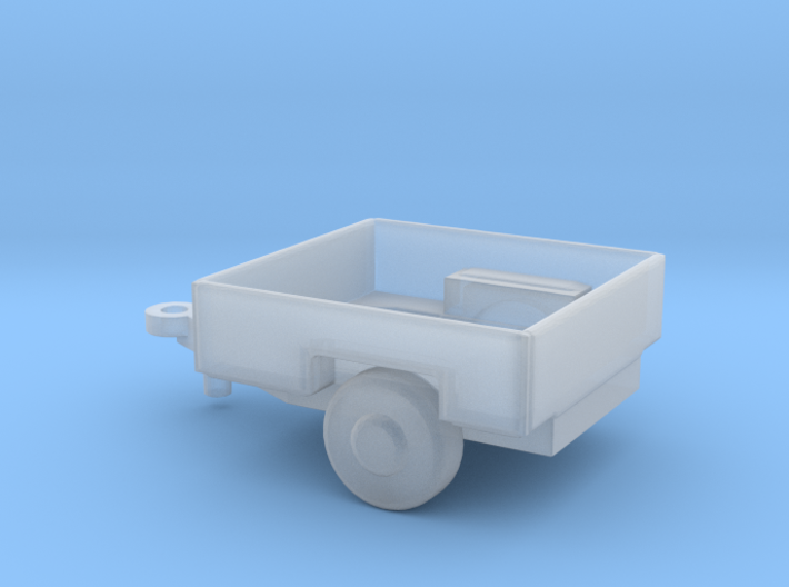 1/144 Scale M1011 HUMVEE Cargo Trailer 3d printed