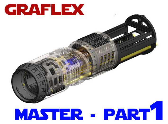 Graflex Master Chassis - Part 1/5 - Main Chassis 3d printed