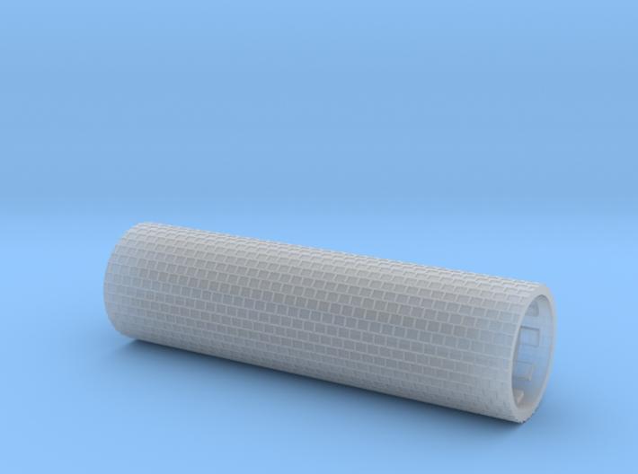 Row paving fine 60 mm wide (TT 1:120 - H0 1:87) 3d printed