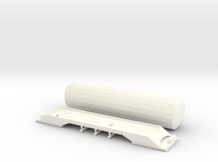 SBB Uacns Scale TT V2 3d printed