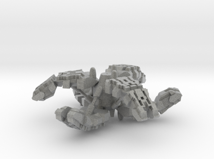 Neith Class Heavy Monitor - 1:20000 3d printed