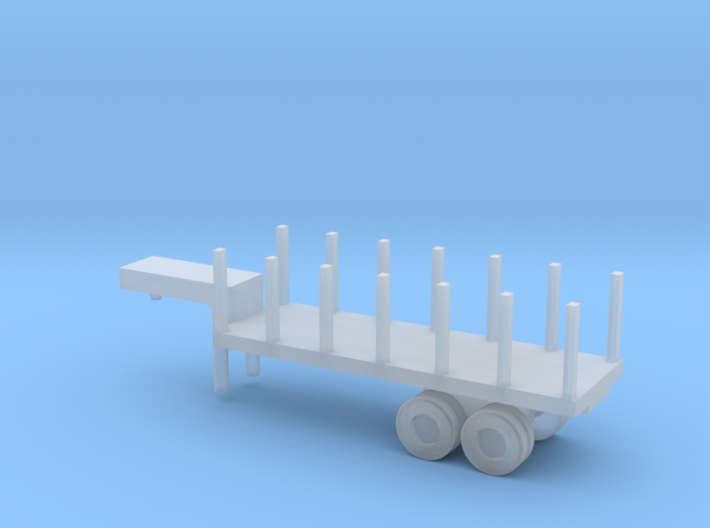 1/144 Scale M269 Semitrailer Low Bed 3d printed