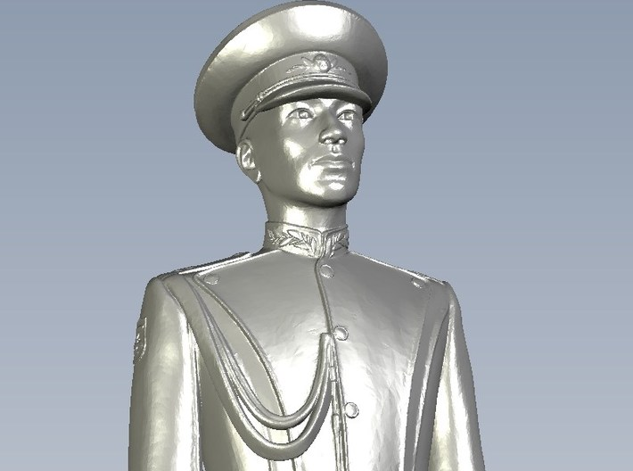 1/24 scale USSR & Russian Army honor guard soldier 3d printed