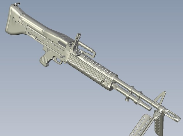1/24 scale Saco Defense M-60 machineguns x 2 3d printed