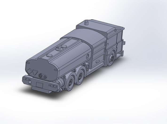 DennisE Fuel 3axle 3d printed
