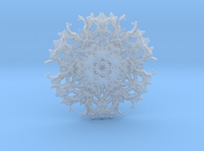 Experimental rough pendant 3d printed