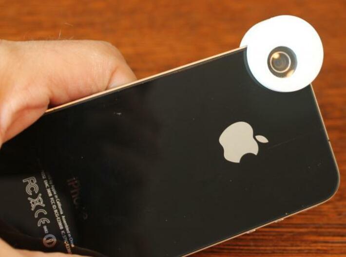iPhone 4s iPhone 4 Macro Lens 3d printed