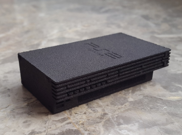 Sony PlayStation 2 (Scale 1:5) 3d printed