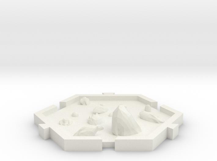 campo de asteroides 3d printed