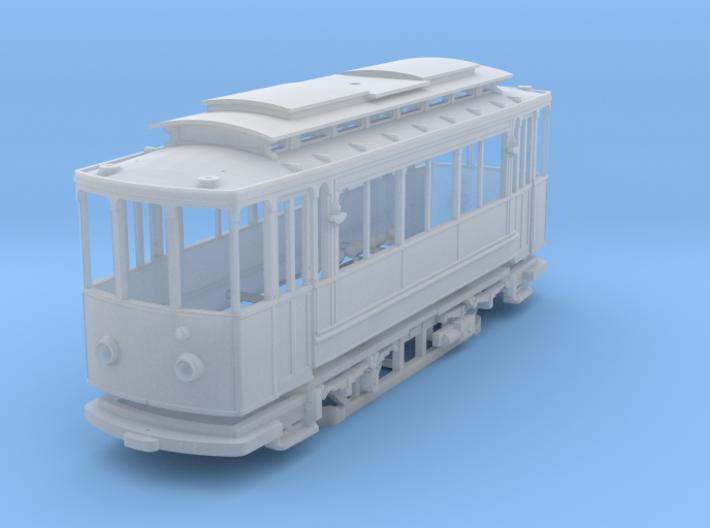 (H0m) - Herbrand Triebwagen mit Scherenstromabnehm 3d printed