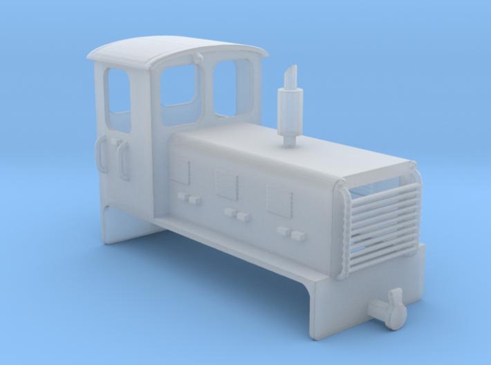 Welsh Highland Rly diesel shunter loco NO.9 3d printed