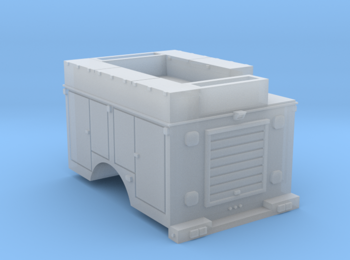 Pickup Rescue Truck N 1-160 Scale 3d printed