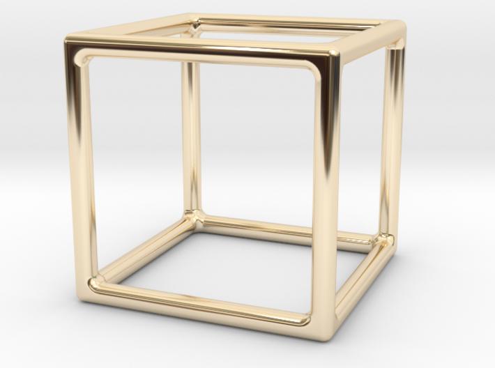 Simply Shapes Homewares Cube 3d printed