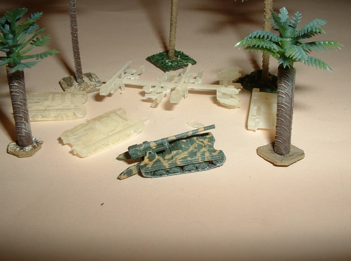 Cannone Semovente 149/40 SPG 1/285 6mm 3d printed