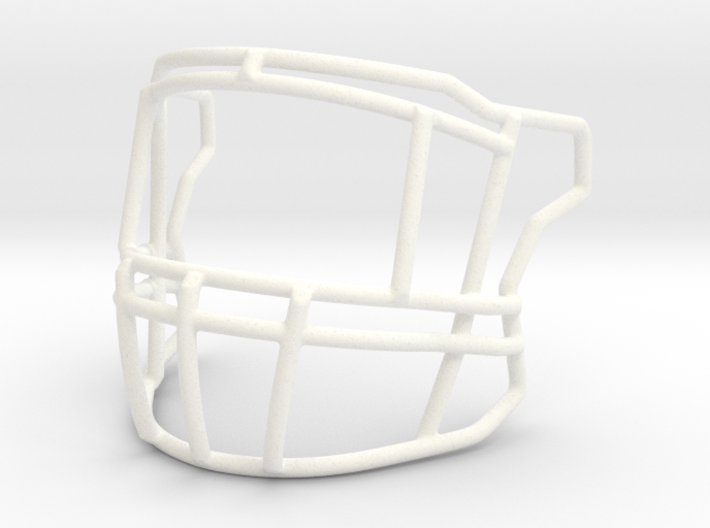 Zeke Cowboys Speed Flex Facemask 3d printed