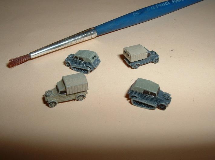 VW Type 82 Kübelwagen Variants 1/285 6mm 3d printed w/o Figure