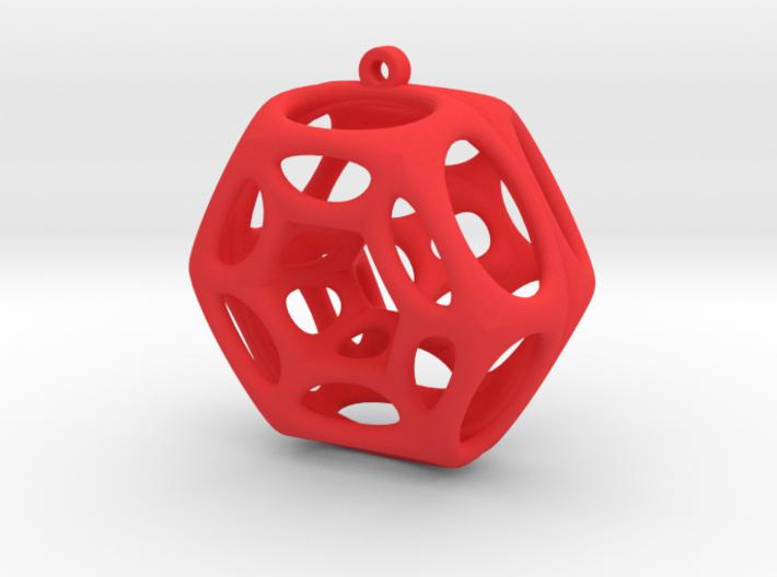 Voronoi Klein Earring (001) 3d printed Voronoi Klein Earring (001)