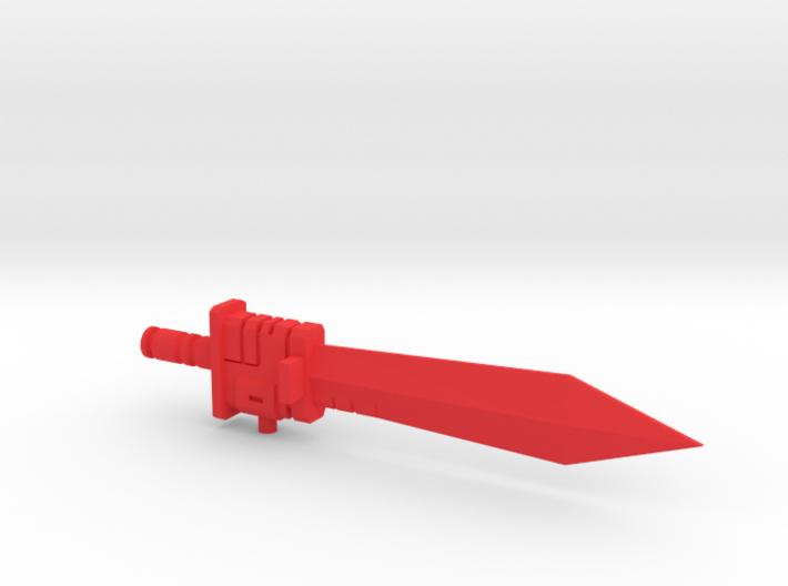 G1 style Sword for PotP Grimlock 3d printed