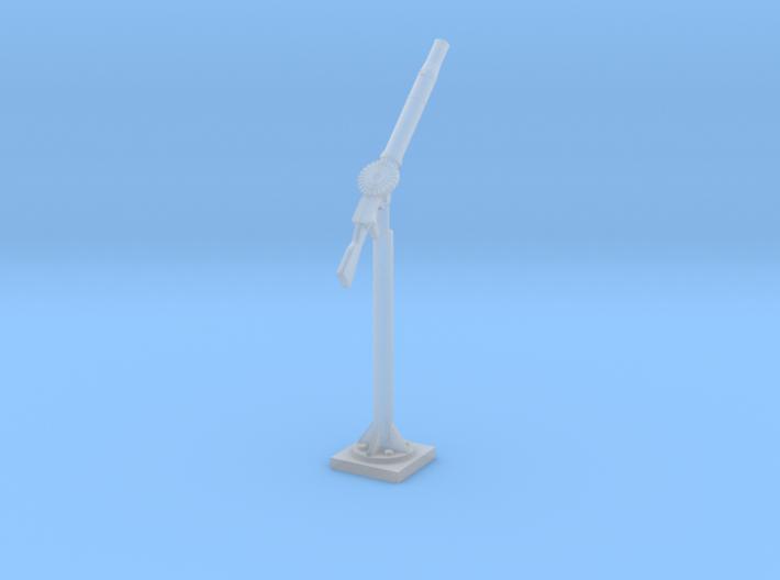 Single Lewis on pole mount 1/35 3d printed