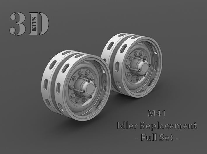 Set of two M41 Idlers 3d printed