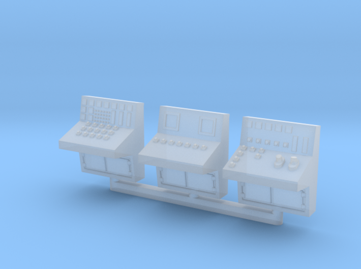 N Scale 3x Control Console 3d printed
