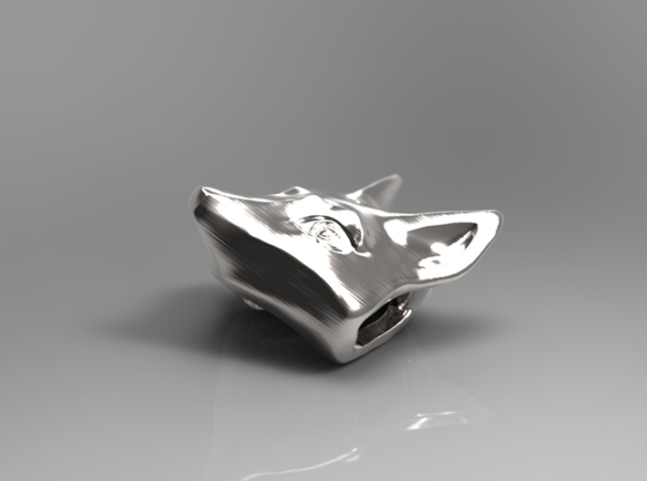 Large Foxhead Medallion 3d printed 3d Preview Render