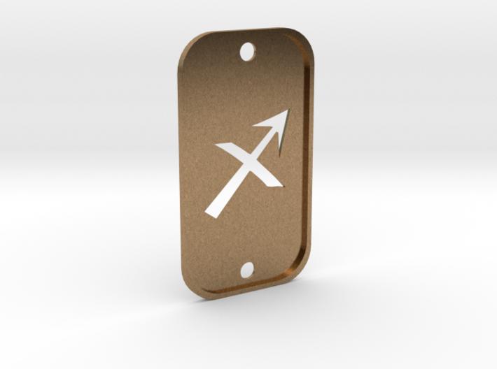 Sagittarius (The Archer) DogTag V2 3d printed