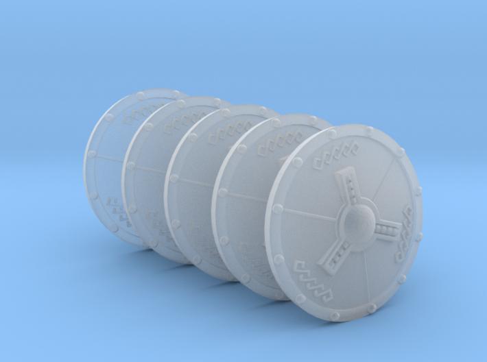 Valkiria pattern Energy Shield (left hand) 3d printed
