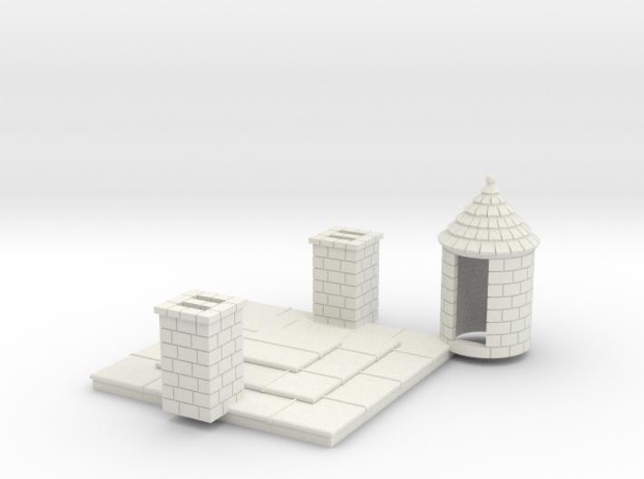 HOF042 - Alternative roof for castle keep N°1 3d printed