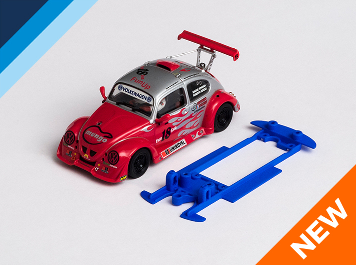 1/32 Monogram VW Fun Cup Chassis for IL pod 3d printed Chassis compatible with Revell Monogram VW Fun Cup body (not included)