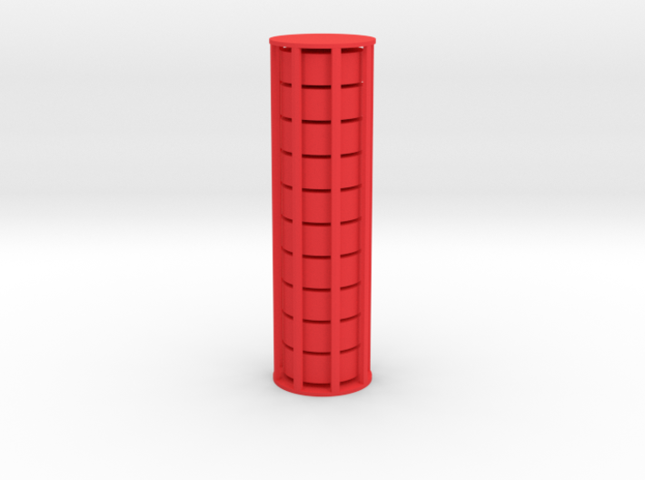 Cylindrical Coin Set - Ratio 1 : 2*sqrt2 3d printed Product ships as 10 coins in a cage which you can break open