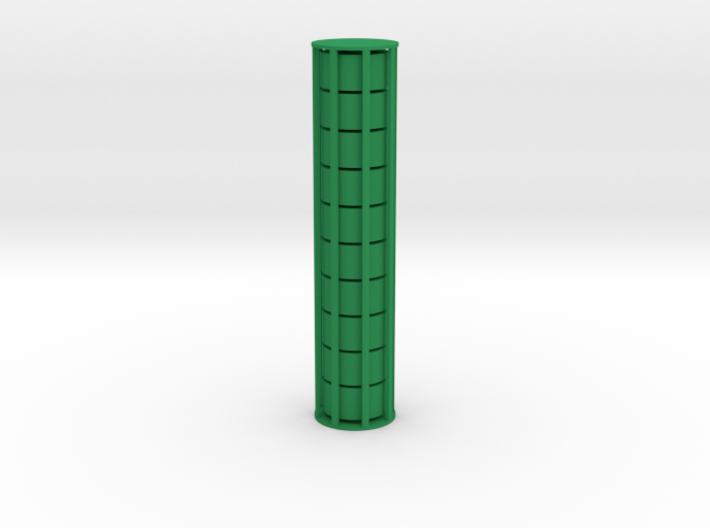 Cylindrical Coin Set - Ratio 1 : 2 3d printed Product ships as 10 coins in a cage which you can break open