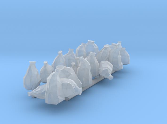 20 Müllsäcke (N 1:160) 3d printed