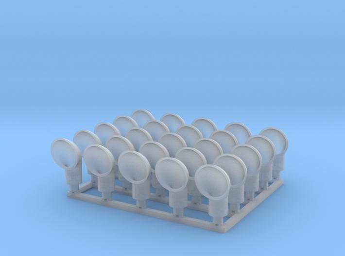 1:160 Cowl Ventilator V2 - 25ea 3d printed
