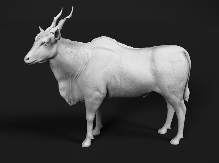 Common Eland 1:72 Standing Male 3d printed