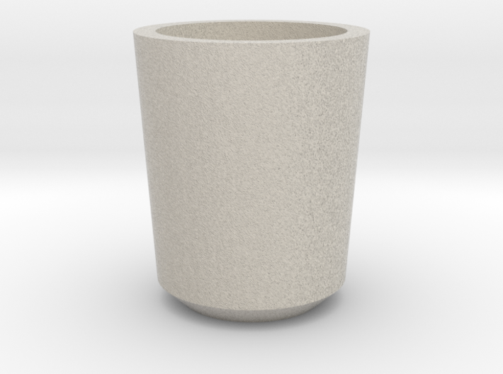 Shot glass Planter1 3d printed
